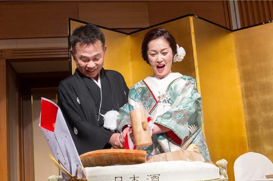 実績 結婚式の様子