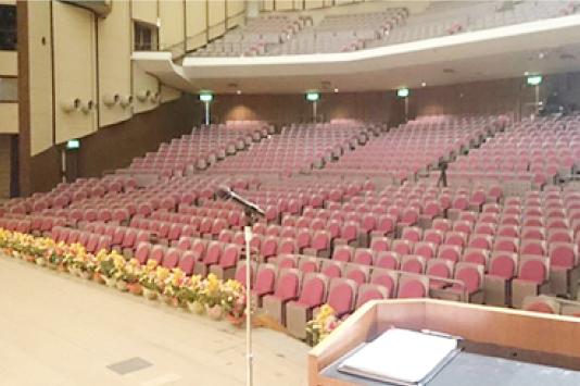 実績 会場・ホール設置
